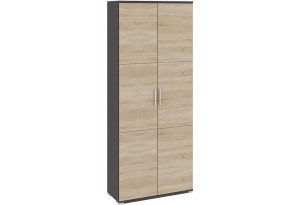 Шкаф для одежды «Успех-2» Венге Цаво, Дуб Сонома