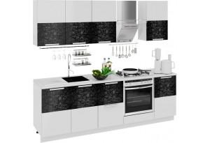 Кухонный гарнитур длиной - 240 см (со шкафом НБ) Фэнтези (Лайнс)