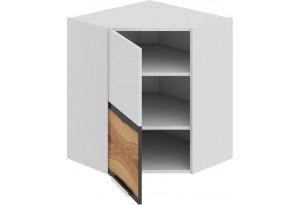 Шкаф навесной угловой с углом 45 (левый) Фэнтези (Вуд)
