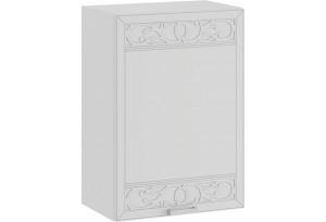 Шкаф навесной c одной дверью «Долорес» (Белый/Сноу)