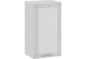 Шкаф навесной c одной дверью «Ольга» (Белый/Белый)