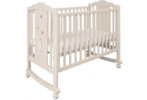 Кроватка детская Polini kids 621 Зайки