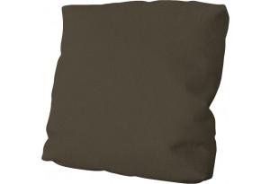 Подушка малая П1 Beauty 04 (велюр) коричневый