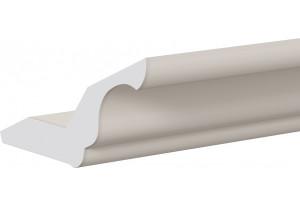 Карниз кухонный МДФ (длина=2.2м) (СКАЙ (Бежевый софт))