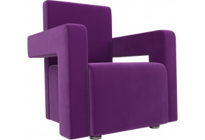 Кресло Рамос Фиолетовый (Микровельвет)