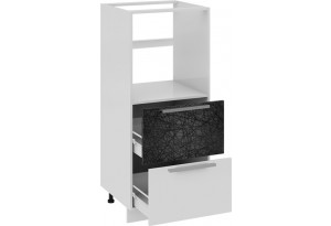 Шкаф комбинированный под бытовую технику с 2-мя ящиками Фэнтези (Лайнс)
