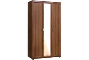 Шкаф 3-х створчатый с зеркальной дверью