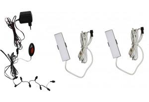 Комплект светодиодной подсветки ПСТ с 2-мя светильниками
