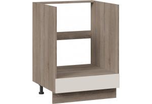 Шкаф напольный под бытовую технику с 1-м ящиком (СКАЙ (Бежевый софт))