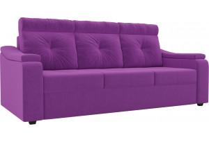 Диван прямой Джастин Фиолетовый (Микровельвет)
