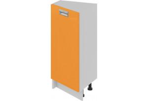 Шкаф напольный нестандартный торцевой (левый) (БЬЮТИ (Оранж))