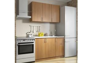 Кухня Дачница 1,3 м (с мойкой и посудосушителем)