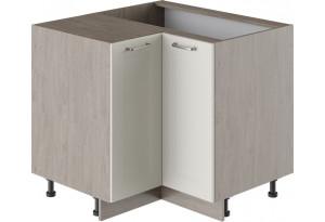 Шкаф напольный угловой с углом 90° ОДРИ (Бежевый шелк)