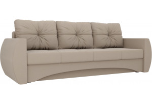 Прямой диван Сатурн Бежевый (Рогожка)