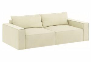Модульный диван Портленд вариант №9 молочный (Микровелюр)