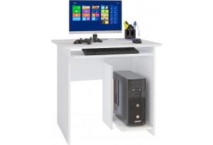 Стол компьютерный Сноу вариант №3 (белый)