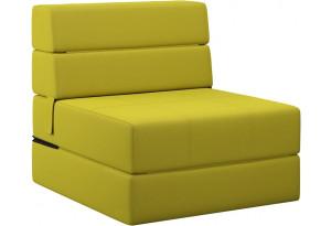 Кресло тканевое Форест зеленый (Рогожка)