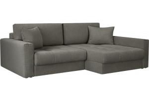 Модульный диван Брайтон вариант №2 серый (Рогожка)