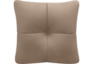 Декоративная подушка Барон коричневый (Велюр)