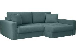 Модульный диван Брайтон вариант №2 голубой (Рогожка)