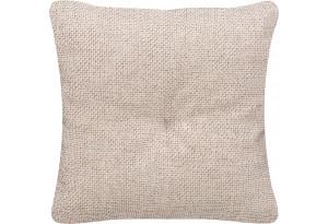 Декоративная подушка Амстердам бежевый (Рогожка)