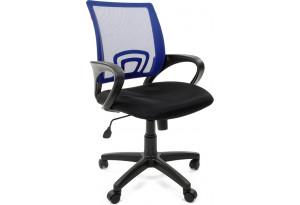 Кресло для оператора Chairman 696 (черный/синий)