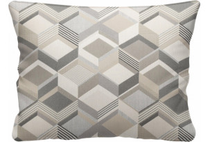 Декоративная подушка Портленд 60х48 см вариант №1 серый (Жаккард)