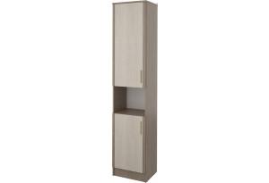 Шкаф распашной двухдверный Санди (крослайн карамель/латте)
