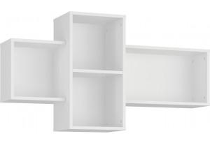 Полка Мелисса 121 см (белый)