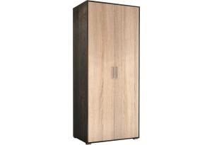 Шкаф распашной двухдверный Эвертон (дуб кантерберри/дуб сонома)