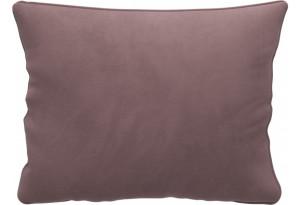 Декоративная подушка Портленд 60х48 см вариант №1 Розово-серый (Велюр)