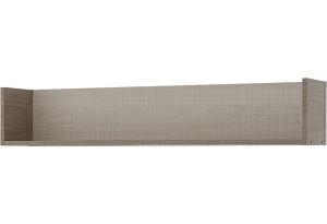 Полка Санди 113 см (крослайн карамель/латте)