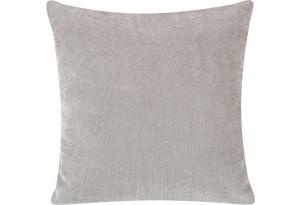 Декоративная подушка Брюссель серый (Вельвет)