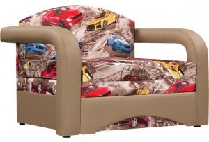 Кресло тканевое Эдем (Микровелюр + Экокожа)