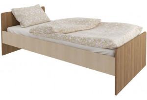 Кровать односпальная 190х90 Лакки без подъемного механизма (дуб кремона/ясень кассино)