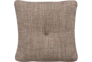 Декоративная подушка Амстердам коричневый (Рогожка)