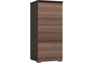 Шкаф распашной однодверный Верона вариант №2 (венге/ясень шимо)