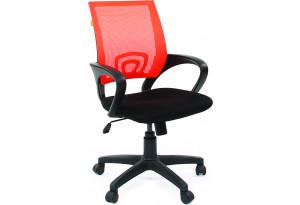 Кресло для оператора Chairman 696 (черный/оранжевый)