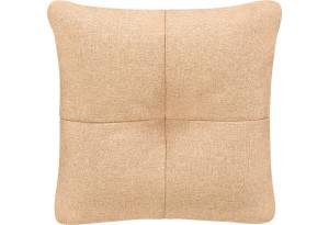 Декоративная подушка Барон бежевый (Рогожка)