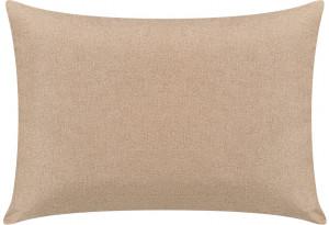 Декоративная подушка Медисон 75х55 см темно-бежевый (Рогожка)