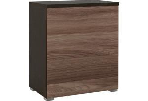 Шкаф распашной однодверный Верона вариант №1 (венге/ясень шимо)