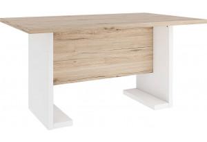Обеденный стол Альмерия (дуб санремо/белый)