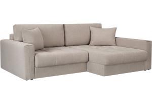Модульный диван Брайтон вариант №2 бежевый (Рогожка)