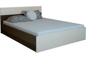 Кровать каркасная 200х140 Медея без подъемного механизма (венге/дуб белфорт)