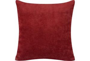 Декоративная подушка Брюссель красный (Вельвет)