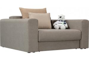Кресло тканевое Медисон Вариант №1 100 см серый (Рогожка)
