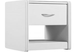 Прикроватная тумба Малибу вариант №2 (Белый)