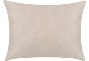 Декоративная подушка Медисон 60х45 см бежевый (Рогожка)