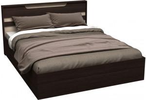 Кровать каркасная 200х160 Медея без подъемного механизма (венге/дуб белфорт)