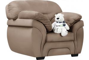 Кресло тканевое Бристоль коричневый (Велюр)
